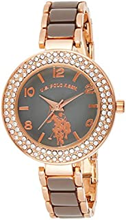 U.S. Polo Assn.  USC40247 Women's Quartz Watch, Analog Display and Stainless Steel S