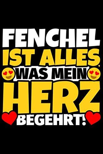 Notizbuch liniert: Fenchel Geschenke für Fenchel-Liebhaber lustig