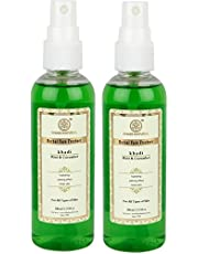 Khadi Natural Mint and Cucumber Face Spray, 100ml (Pack of 2)
