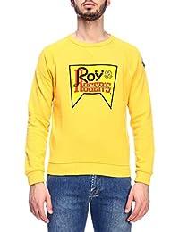 ROY ROGERS Hombre RRU521C7470000140 Amarillo Algodon Sudadera