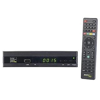 auvisio Satelliten Receiver: Digitaler Pearl.tv HD-Sat-Receiver (DVB-S/S2), HDMI, Scart, S/PDIF (SAT Receiver mit Mediaplayer)