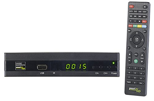auvisio Digitalreceiver: Digitaler Pearl.TV HD-Sat-Receiver (DVB-S/S2), HDMI, Scart, S/PDIF (Sat Receiver mit Mediaplayer)