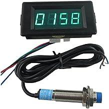 KKmoon Digitale Z/ähler K/ühlwasserthermometer mit Sensor f/ür Auto Auto 52mm 2 Zoll LCD 40 ~ 120Celsius Grad Warnung schwarz hell