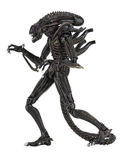 Aliens die Rückkehr - Actionfigur - Ultimate Warrior - Xenomorph + Zubehör - 23 cm - Brown