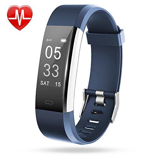 7aefa76865905 Bracelet Connecté, Lintelek Bracelet Sport Cardiofréquencemètre ...