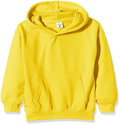 Just Hoods by AWDis Kids Hoodie, Sudadera Para Niños, color Amarillo (Sunshine Yellow), X-Small (3/4 años)