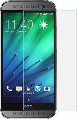 JAIFAON Premium HTC Desire 620G Tempered Glass Screen Protector Scratch Guard (Clear)