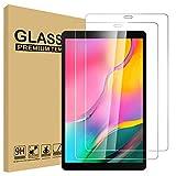 Lspcase Panzerglasfolie für Galaxy Tab A 2019 [2 Stück] - 9H Schutzfolie HD Displayschutzfolie Tempered Glas Schutzglas Folie für Samsung Galaxy Tab A 10.1 Zoll SM-T510 SM-T515