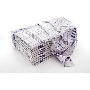 100  Stück Geschirrtücher  100/% Baumw ROT 95 Grad Wäsche  50 x 70 cm