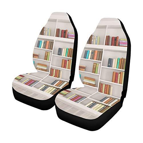 Enhusk Kleinkind Autositzbezug Bücher In Bibliothek Bücherregal