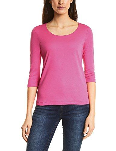 (Street One Damen Langarmshirt 311694 Pania, Rosa (Flamingo Pink 11272), 38)