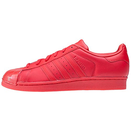 adidas Superstar Glossy, Scarpe da Basket Donna Rojo