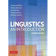 Linguistics: An Introduction by Andrew Radford (2009-02-16)