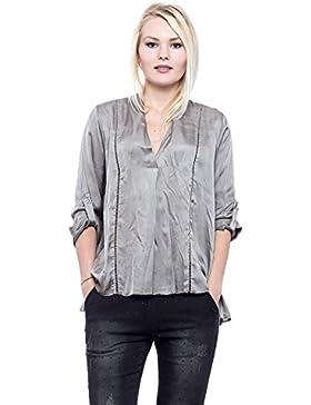 [Patrocinado]Abbino 7440 Blusas lorita Para Mujer - Hecho EN Italia - 6 Colores - Entretiempo Primavera Verano Otoño Mujeres...