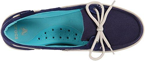 Chaussures Crocs Walu Boat Shoe W Boat Nautical Navy/Stucco