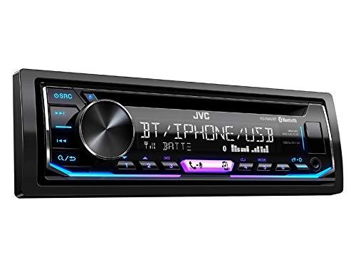 JVC KDR992BT 1-Din Radio CD Bluetooth Spotify Variocolor inkl Einbauset für Mercedes B Klasse W245 mit Audio 10 Canbus