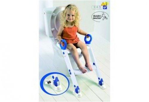 Toilettentrainer Toiletten-Trainer XL weiß/blau