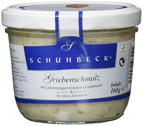 Schuhbeck Griebenschmalz, 3er Pack (3 x 160 g)