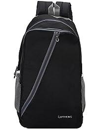 Lutyens Black Mini School Bag II Backpack II Multiuse Bag II Smart Tuition Bag (21 Ltr) (Lutyens_1001)