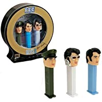 Elvis Presley Limited Edition PEZ Dispensers with CD by Pez (Elvis Presley Tin)