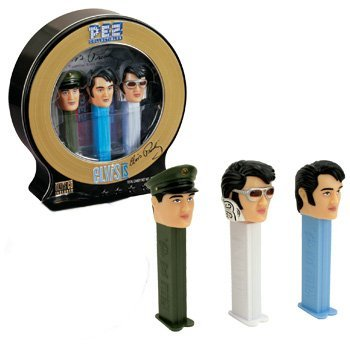 pez-candy-company-elvis-presley-limited-edition-pez-dispensers-with-cd