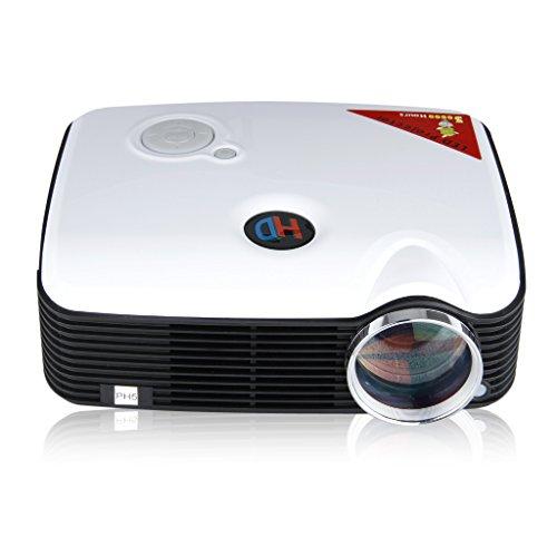 LEDMINI Portabile Videoproiettore Proiettore Multimedia AV IN/USB/VGA/HDMI 800*600 Supporta 1080P 2500 Lumens Per DVD PC Tablet