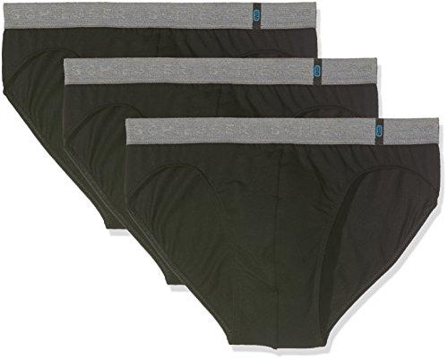 Schiesser Herren 95/5 Rio-Slip (3er Pack), 3er Pack, Schwarz (Schwarz 000), XX-Large (Herstellergröße 008) (Herren-slip)