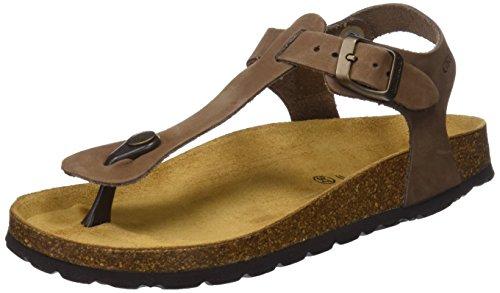 GRUNLAND Sara, Zapatos de Playa y Piscina para Mujer, Azul (Ottanio OTTA), 40 EU