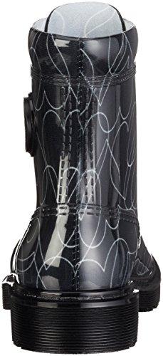 Armani Jeans 9251186a521, Bottines avec doublure intérieure femme Schwarz (NERO 00020)