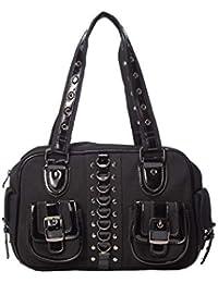 Amazon.es: bolsos negros - Banned Apparel: Zapatos y ...