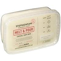 Stephenson STEP-TripleButter-2PK Soap Base, Creamy White Color