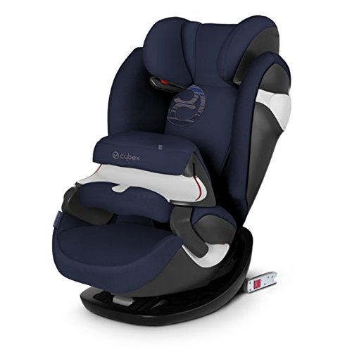Kollektion Denim (Cybex Gold Pallas M-Fix, Autositz Gruppe 1/2/3 (9-36 kg), Kollektion 2018, denim blue, mit Isofix)