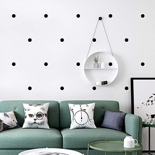 -Tapete INS-moderne einfache Geometrie-Schwarzweiss-Polka-Punkt-Wandpapier-Wohnzimmer-Schlafzimmer Fernsehhintergrund-Dekor , 210cm × 150cm ()