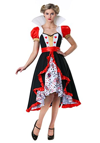 Der Königinnen Herzen Kostüm - Plus Size Flirty Königin der Herzen Kostüm - 2X