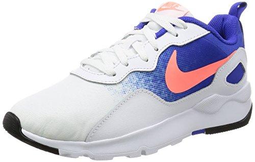 Nike Damen LD Runner Sneakers, Mehrfarbig (100 B C O Coral Azul), 41 EU