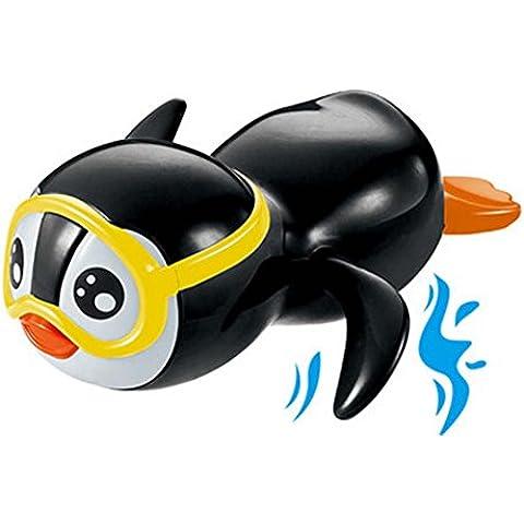 Juguete de natación juguete mecánico pingüino hasta el juguete / color enviado en al azar
