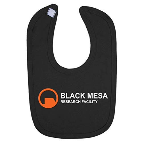 (Black Mesa Research Facility Half Life Baby And Toddler Velcro Close Bib)