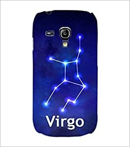 PrintDhaba Zodiac Virgo D-4838 Back Case Cover for SAMSUNG GALAXY S3 MINI (Multi-Coloured)