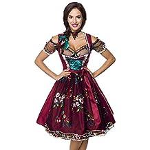 13f83be24bf461 Midi Dirndl Set Tracht Trachtenkleid Dirndl-Kleid Wiesn Oktoberfest Bluse 36 -46