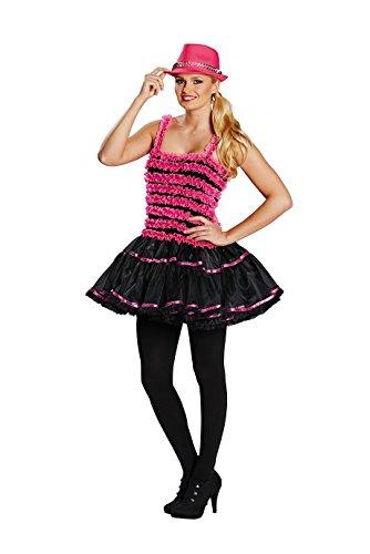Hot Haloween Kostüm - Ballerina hot pink Damen Kostüm Rock