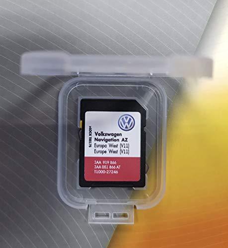 VW RNS 315 V11 NAVI SD Card MAP West Europe 2019