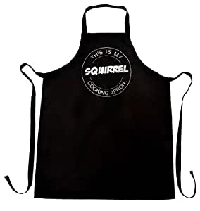 This Is My Squirrel Cooking Apron, Great Gift For Foodies, Gift Wrap and Gift Card Service Available by Bertie's Kitchen