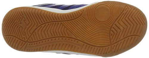 KangaROOS Unisex-Kinder Chelo Court V Low-Top Mehrfarbig (Royal/lime)