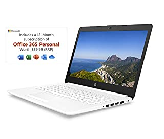 HP Stream 14-cm0042na 14 Inch Laptop, White (AMD A4-9125 Dual Core, 4 GB RAM, 64 GB eMMC, 1 TB OneDrive and Office 365, 1 Year Subscription Included, Windows 10 Home) (B07VJ2N3QC)   Amazon price tracker / tracking, Amazon price history charts, Amazon price watches, Amazon price drop alerts