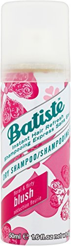 Batiste Instant Hair Refresh Travel Dry Shampoo Pack, Floral and Flirty Blush, 50ml
