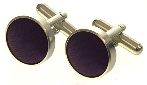 cadburys-purple-high-quality-mens-silky-satin-cufflinks-uk-seller
