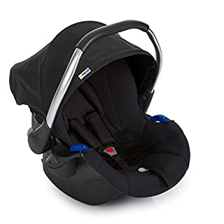 Hauck Comfort Fix, Lightweight Infant Car Seat Group 0+, ECE 44/04, from Birth to 13 kg, Side Impact Protection, Compatible with hauck Isofix Base, Black