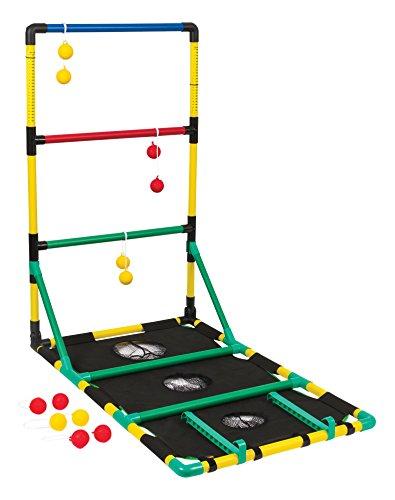 EastPoint Sports Go! Gater Allwetter-Wurf-Set mit Leiterball, Sitzsack und Waschmaschinenwurf-Set – einfache Montage, Aufbewahrung und komplett mit allem Zubehör