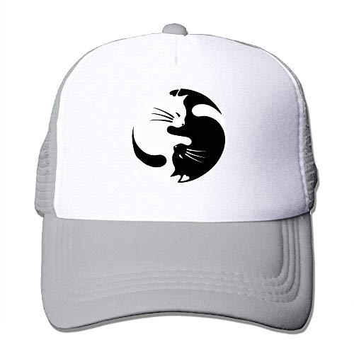 Machen Yin Kostüm Yang - AOHOT Herren Damen Baseball Caps,Hüte, Mützen, Classic Baseball Cap, Yin Yang Lucky Cat Unisex Trucker Hats-Adjustable