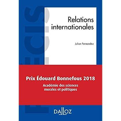 Relations internationales - Nouveauté